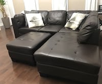 Sectional leather sofa Ajax, L1Z 0E2