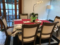 Brown Dining Table and 6 chairs  Irvine, 92604
