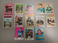 assorted-color Football trading card lot Las Vegas