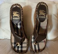 Authentic Burberry Wedge Sandals Great Falls, 59404