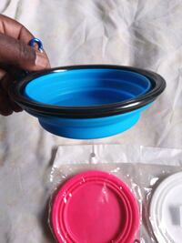 Colapseable dog bowls