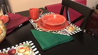 Red set of dishes  Greer, 29650