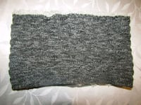 Mens gray and black neck warmer  London