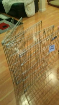 brown and white metal pet cage 42 km