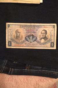 1967 Colombian bank note Media, 19063