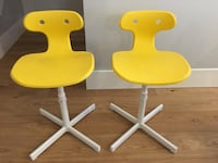 Pair of IKEA MOLTE chairs 3739 km