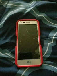 white Android smartphone with red case Hyattsville, 20785