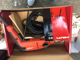 HILTI PROFESSIONAL  ELECTRIC DRILL. NEW IN BOX NEVER USED