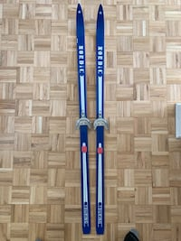 Wooden Cross Country Skis