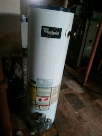 white and black water heater Dearborn, 48120