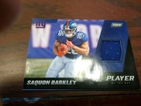Giants Saquon Barkley Patch  Cambridge, N1R 7B9