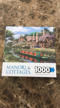 Manors & Cottages puzzle box