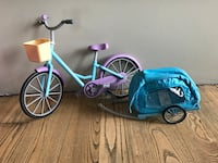 New Berry bike with pet carrier