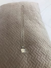 Sterling Silver &Gold Plated Ace of Spades Necklace Manassas