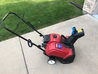 Toro Snow Blower with Electric Start Roselle, 60172