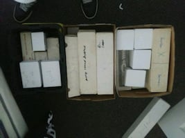 Cards boxs of sports cards