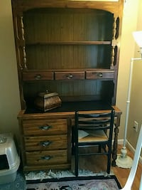 4 piece 2 dressers with hutches