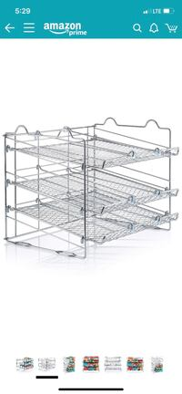 Chrome Stackable Can Organizer Laurel