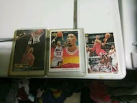 3 Scottie pippen collector cards upper deck 94-96 New Orleans, 70127