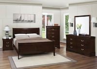 Bedroom set 4PCS 202411 Orlando