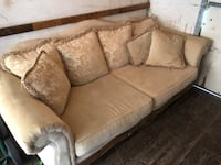 Brown fabric 2-seat sofa Mount Airy, 21771