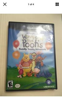 Nintendo Gamecube Winnie The Poohs Rumbly Tumbly Adventure game Halifax, B4E 3C5