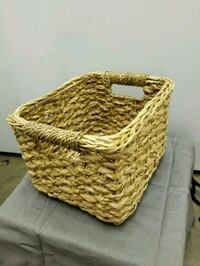 brown and white wicker basket Los Angeles, 90025