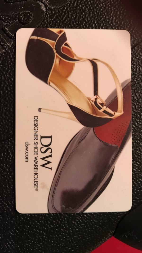 DSW $25 giftcard