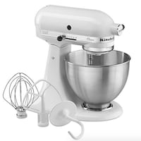 KitchenAid Mixer K45SSWH Classic Series Tilt-Head ... Burnaby