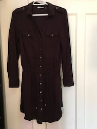women's black long-sleeved dress Montréal, H1W 1H4