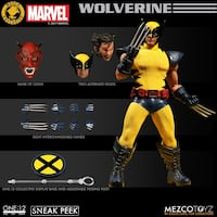 """""""NYCC EXCLUSIVE.. WOLVERINE MEZCO ONE:12"""" LIMITED EDITION ACTION FIGURE Oakland, 94605"""