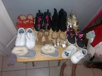assorted pairs of shoes and sandals Tampa, 33619