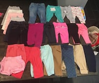 22 Pairs of Baby Girl Pants 3-6 Months Covina, 91724