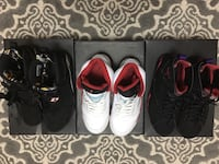 Jordan retros 5,7 and 8s ALL SIZE 9 Toronto, M9W 4M1