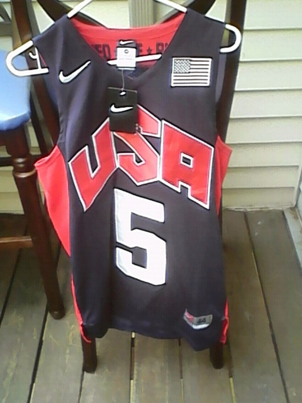 New Durant Jersey sizes 44 men small