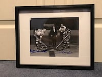 Milt Schmidt & Ted Kennedy dual signed photo  Châteauguay, J6K