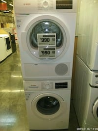 white Arcelik front load washing machine Prince George's County, 20746