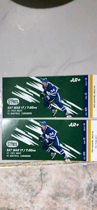 two Sat mar 17 tickets