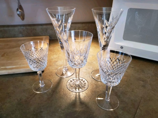 Vintage Waterford Crystal Stemware