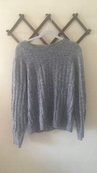 Slouchy oversized Soft grey sweater