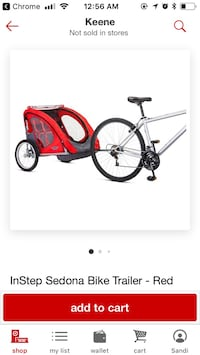 red and black bicycle trailer Keene, 03431