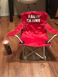 Red and black camping chair New Iberia, 70560