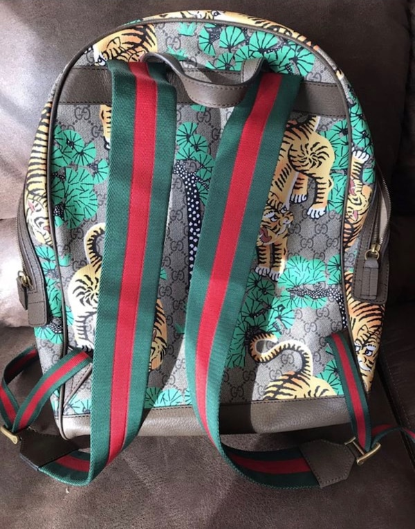 47a405a7685 Used Authentic Gucci Bengal backpack for sale in Atlanta - letgo