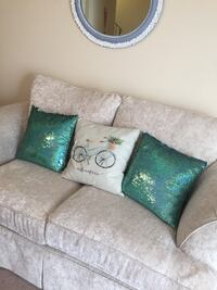 Sparkling throw pillows.All 3 are 15$ Calgary, T2L