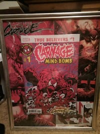 carnage mind bomb #1 comic book picture
