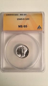 1945s Mercury Dime Clifton, 20124