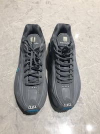 Size 10 Grey & Blue Nike Shox great condition Toronto, M5H 1L3