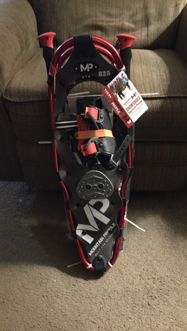Used Yukon Charlie's medium 825 Mountain Profile Snowshoes for sale