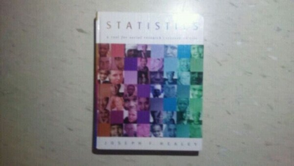 student;s Statistics reference book