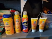 Sunscreen brand new Canton, 44703